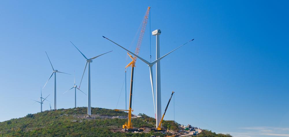 Završna montaža vjetro-elektrane Jelinak